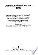 Jahrbuch Für Pädagogik