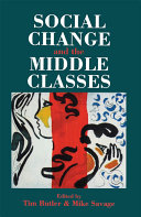 Social Change And The Middle Classes Pdf/ePub eBook