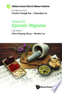 Evidence based Clinical Chinese Medicine   Volume 23  Episodic Migraine