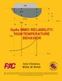 GaAs MMIC Reliability - High Temperature Behavior