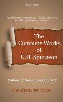The Complete Works of C. H. Spurgeon, Volume 17 Pdf/ePub eBook