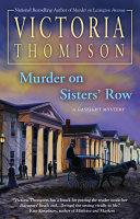 Murder on Sisters' Row Pdf/ePub eBook