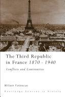 The Third Republic in France, 1870-1940 [Pdf/ePub] eBook
