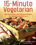 15-Minute Vegetarian Recipes