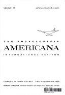 THE ENCYCLOPEDIA AMERICANA INTERNATIONAL EDITION