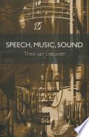 Speech  Music  Sound