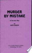 Murder by Mistake Pdf/ePub eBook