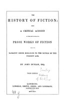 The History of Fiction