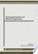 Environment Science and Materials Engineering Book