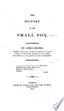 The History of the Small Pox Book