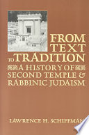 From Text to Tradition