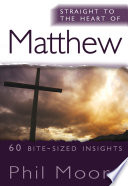 Straight to the Heart of Matthew Book