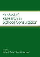 Handbook of Research in School Consultation [Pdf/ePub] eBook
