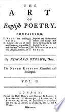 The Art of English Poetry