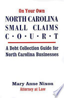 On Your Own North Carolina Small Claims Court
