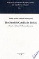 The Kurdish Conflict in Turkey