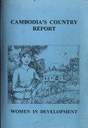 Cambodia S Country Report