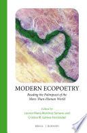 Modern Ecopoetry
