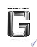 Grants policy statement