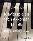Klavierspielen nach Akkorden Teil 98 Pdf/ePub eBook