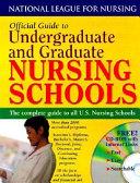 Official Guide to Undergraduate and Graduate Nursing Schools