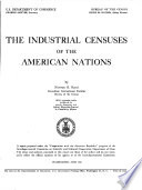 The Industrial Censuses of the American Nations
