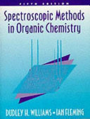 Cover of Spectroscopic Methods in Organic Chemistry