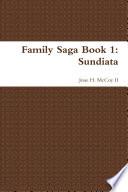 Family Saga Book 1  Sundiata