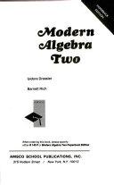 Modern Algebra 2