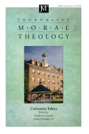 Journal of Moral Theology  Volume 9  Special Issue 2