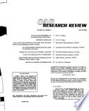 Research Review Book