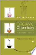 Cover of Organic Chemistry As a Second Language: First Semester Topics