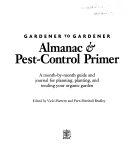 Gardener to Gardener Almanac   Pest control Primer