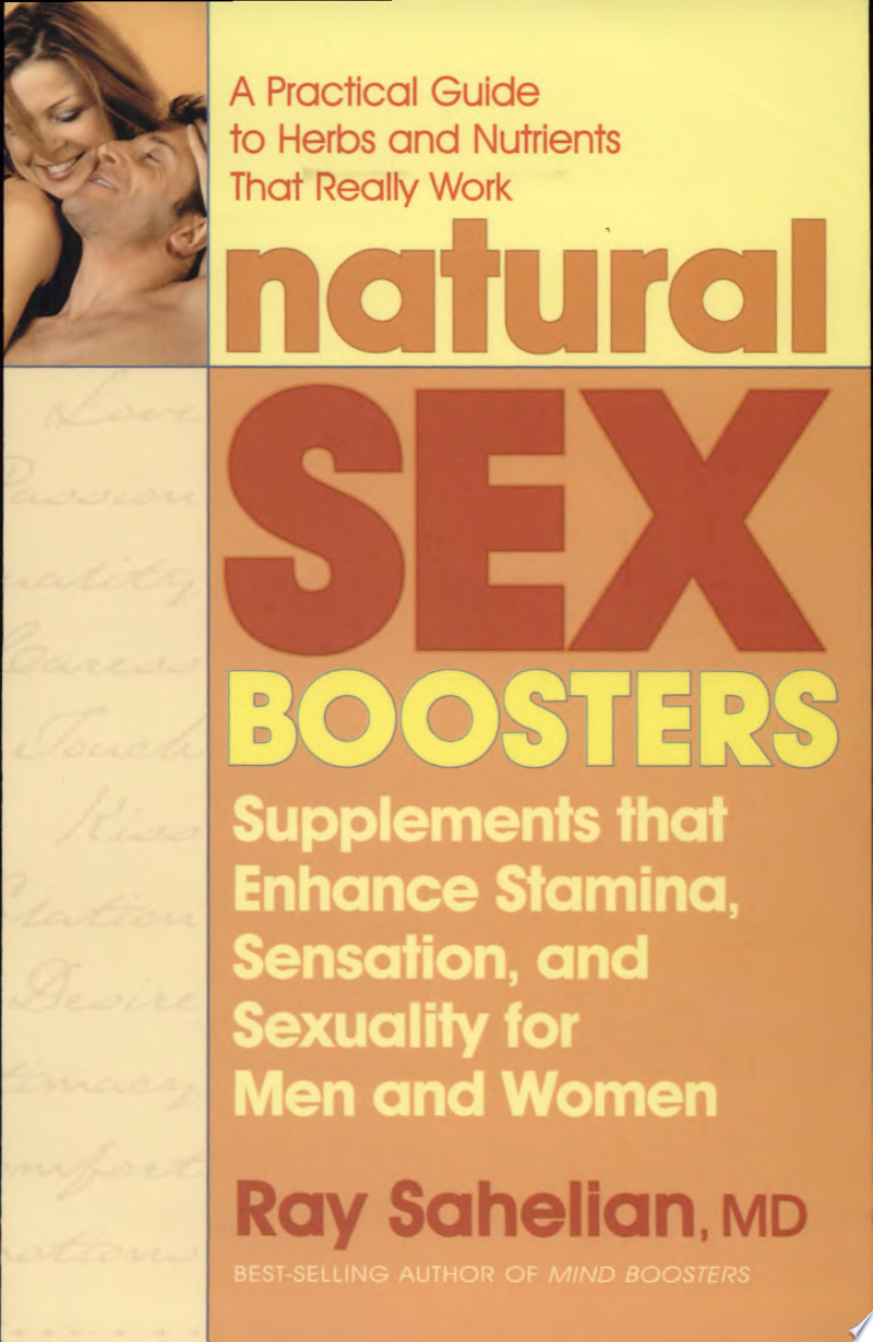 Natural Sex Boosters banner backdrop