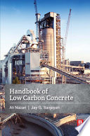 Handbook Of Low Carbon Concrete Book PDF