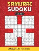 SAMURAI SUDOKU Vol  39