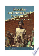 Education and International Development Book