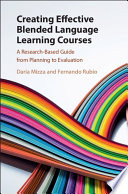 Creating Effective Blended Language Learning Courses