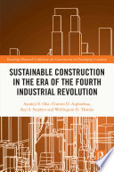 Sustainable Construction in the Era of the Fourth Industrial Revolution