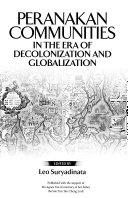 Peranakan Communities in the Era of Decolonization and Globalization