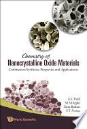 Chemistry of Nanocrystalline Oxide Materials