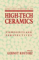 High-Tech Ceramics
