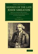 Reports of the Late John Smeaton