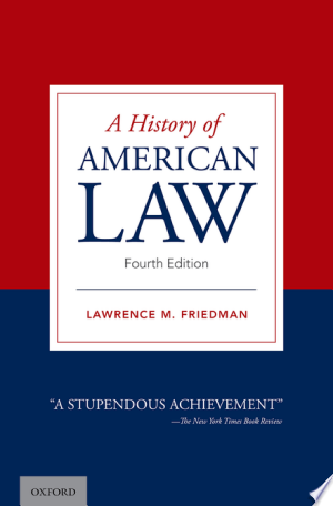 Download A History of American Law PDF