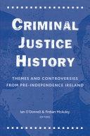 Criminal Justice History