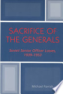 Sacrifice of the Generals