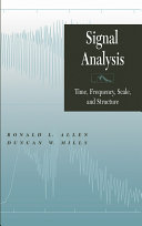 Signal Analysis Pdf/ePub eBook