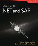 Microsoft  NET and SAP