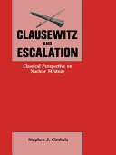 Clausewitz and Escalation