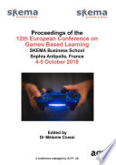 Ecgbl 2018 12th European Conference On Game Based Learning